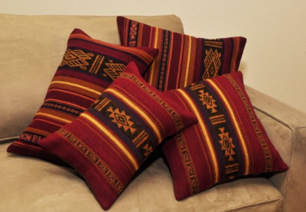 Chasca and Wachu Peruvian Pillow Collection