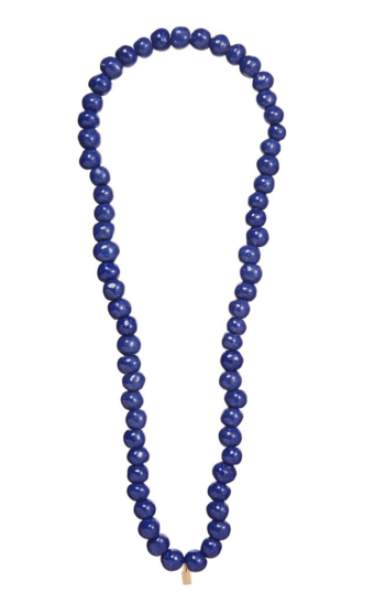 Blue Speckled Terracotta Necklace
