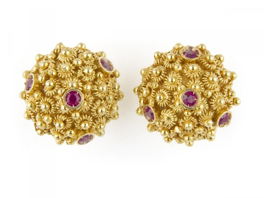 Ruby Mora Earrings