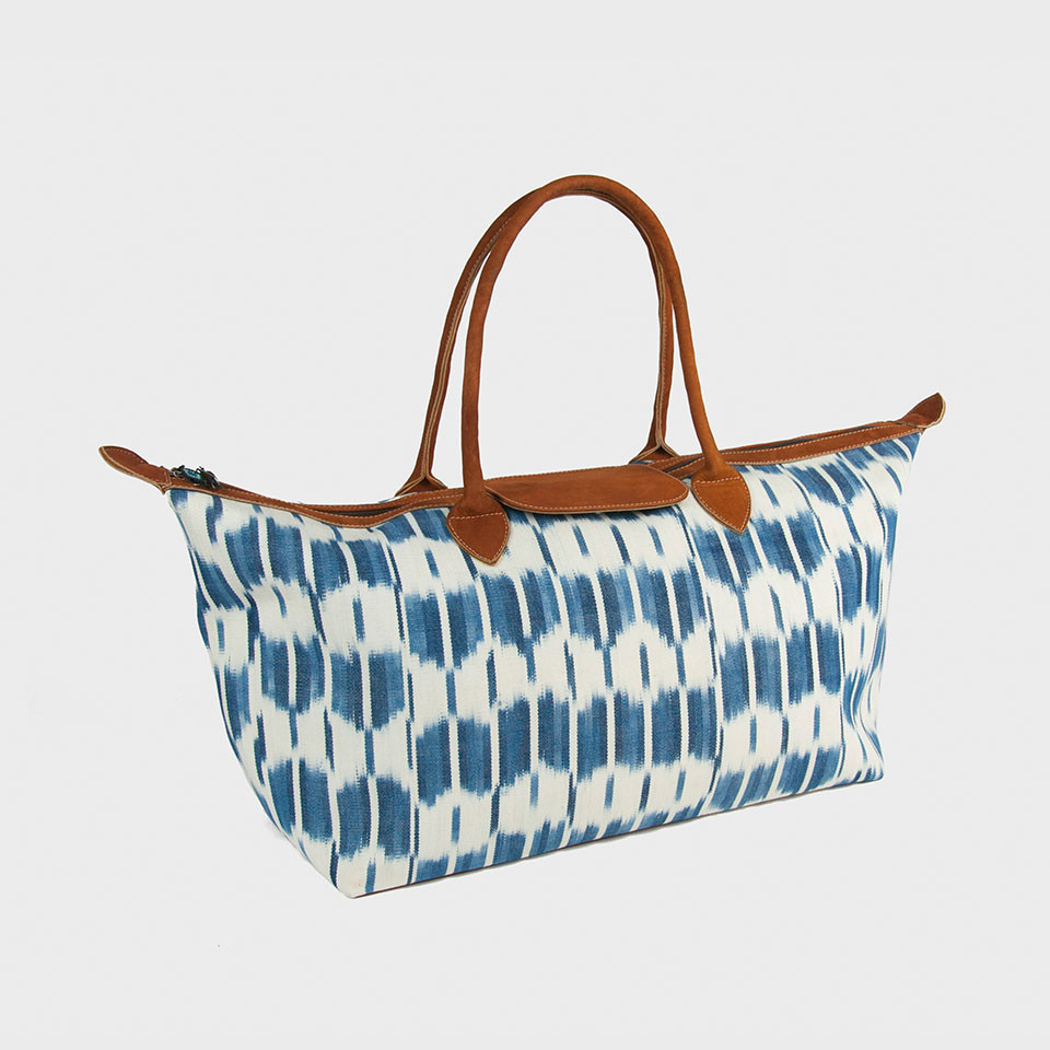 God's Eye Ikat Weekender Bag