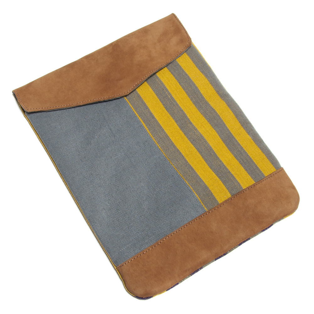Striped Cotton iPad Case