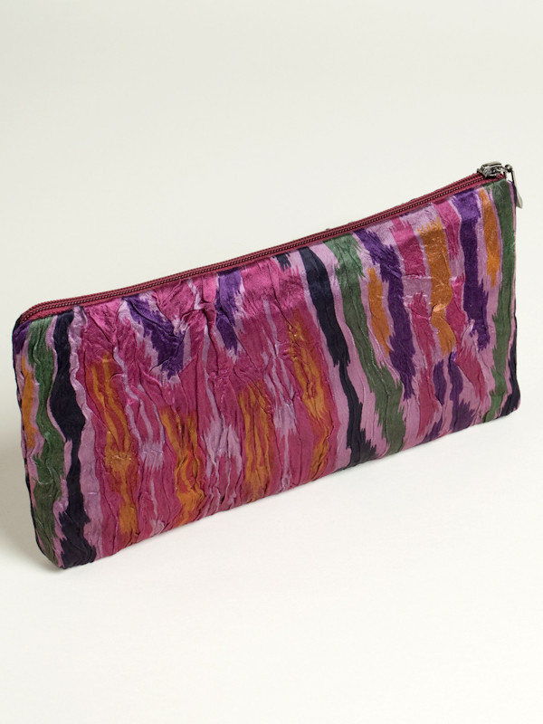 Blushing Ikat Handbag
