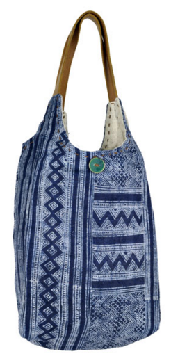 Batik Hemp Tote Bag