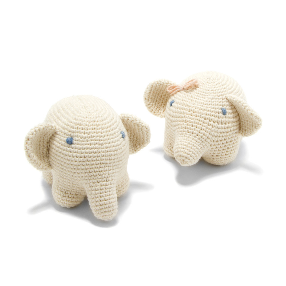 Organic Cotton Elephant