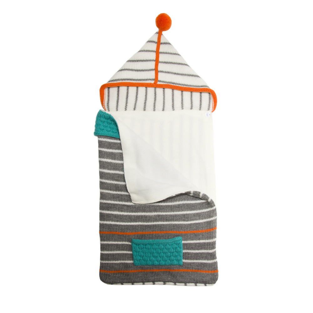 Knit Baby Sleeping Bag