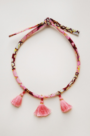 Kids Tassel Necklace