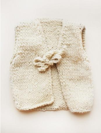 Kids Wool Vest