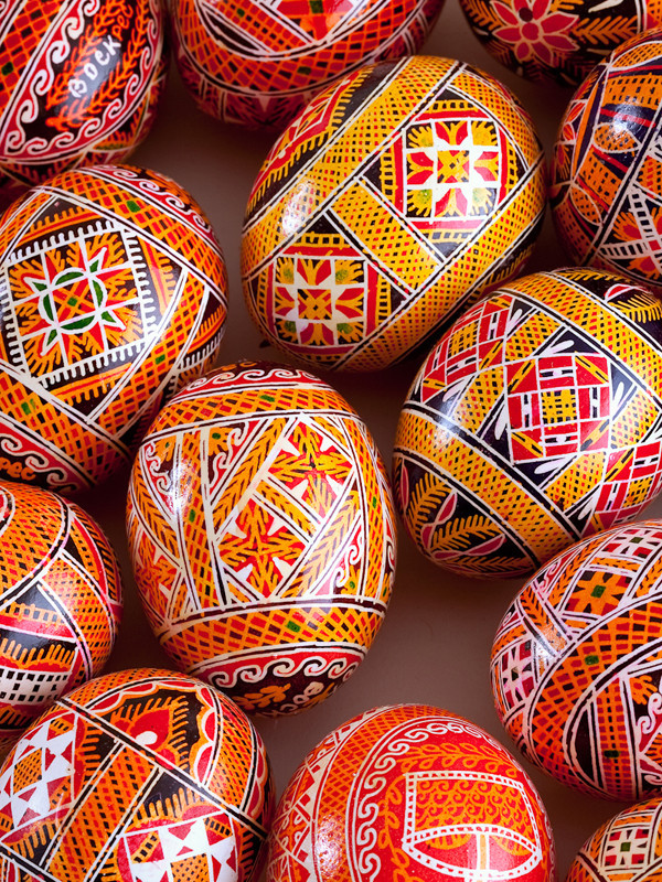 Pysanka Painted Eggs