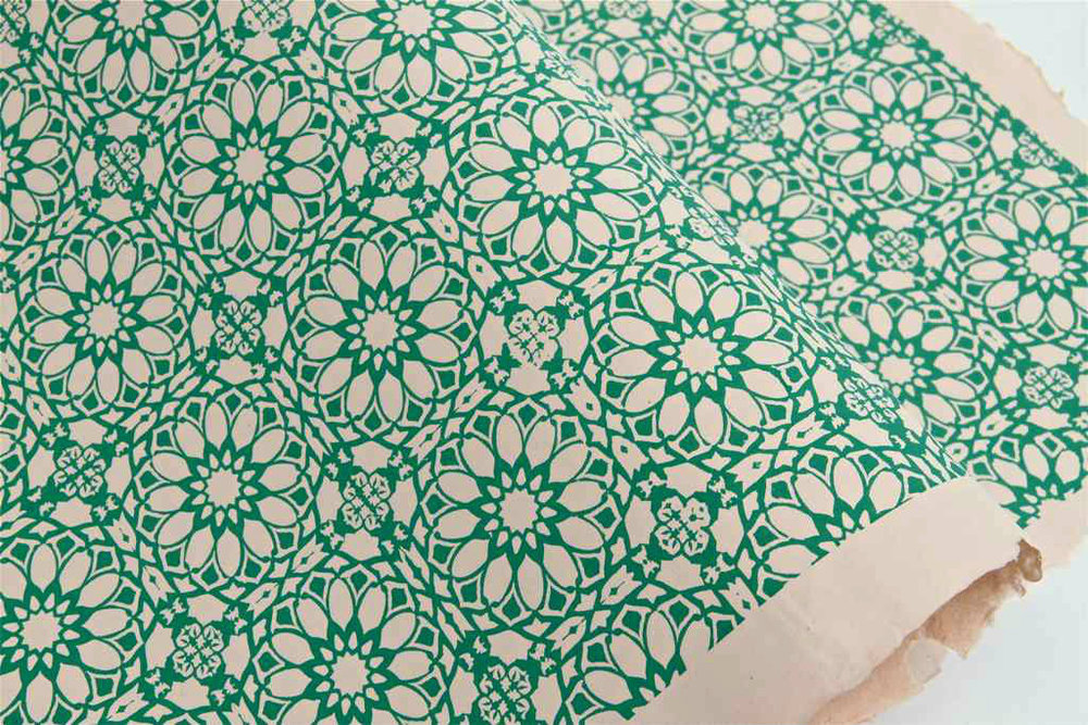 Wrapping Paper — Marrakech Emerald