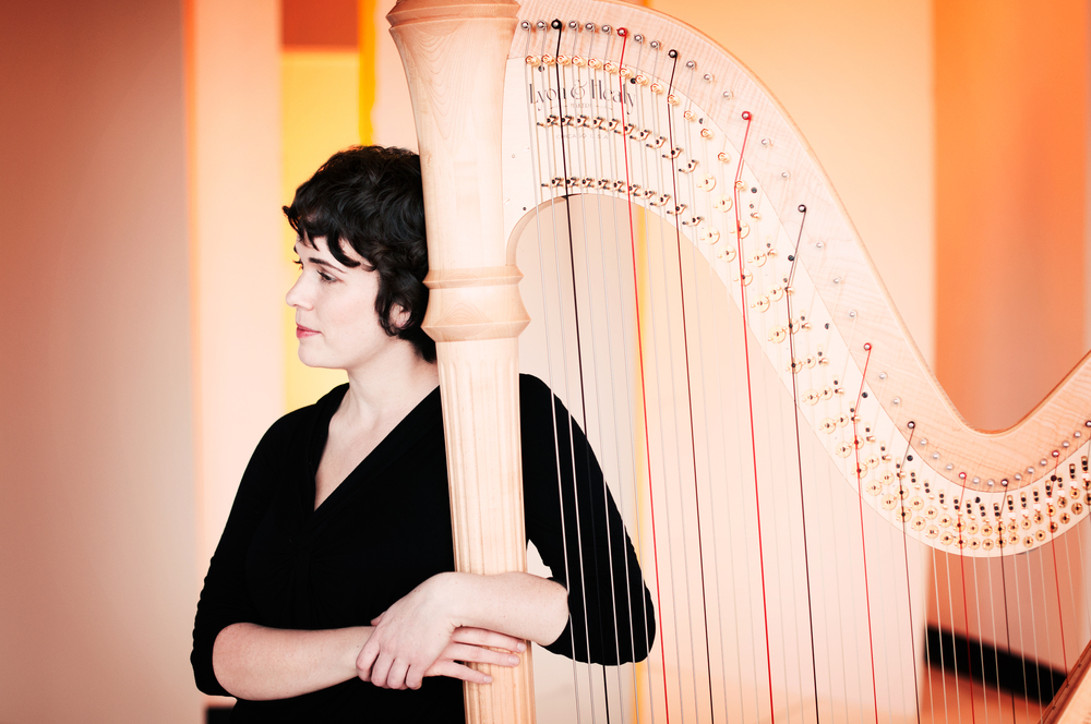 Chapel Hill harpist Leigh Stringfellow