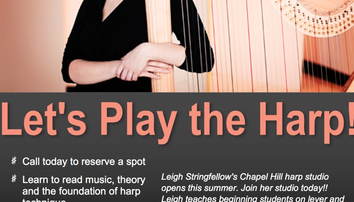 harp instruction