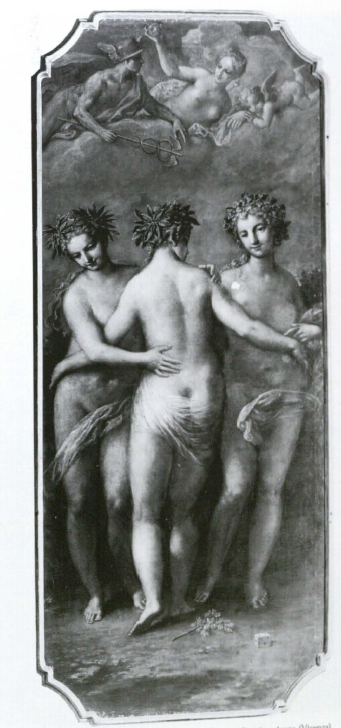 FIGURE 1 NICCOLO BAMBINI The Three Graces, Venus and Mercury Oil on canvas, 270 x 135 cm