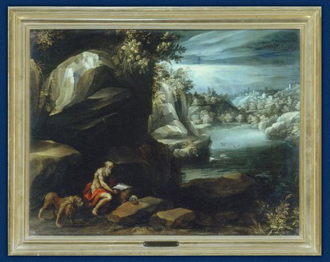 Figure 1 School of Paul Bril Saint Jerome in a Landscape Galleria Borghese