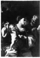 Figure 2 Cristoforo Savolini, Holy Family,  Private collection