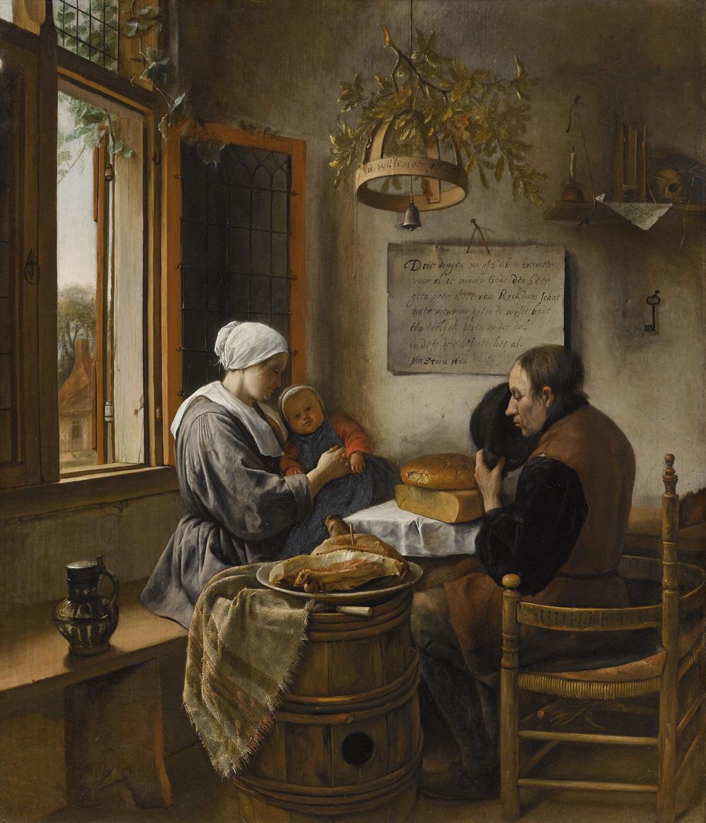 JAN STEEN  (Leiden 1626 - 1679 Leiden)