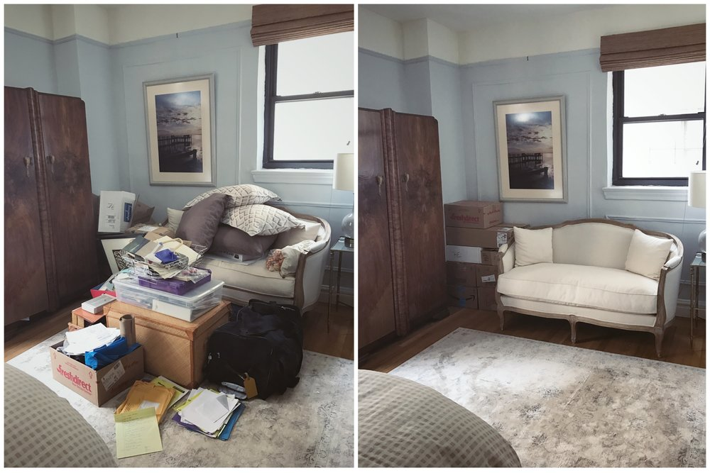 organizing upper west side bedroom