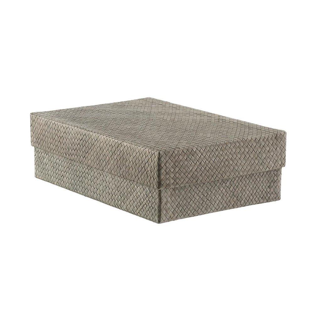 "Grey Pandan Shirt Box   16-1/2"" x 11-1/4"" x 5-1/8"" h"