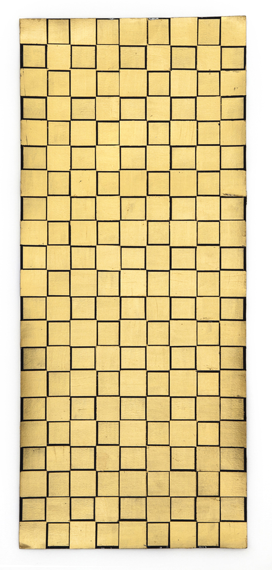 Gold Grid 2, 2015