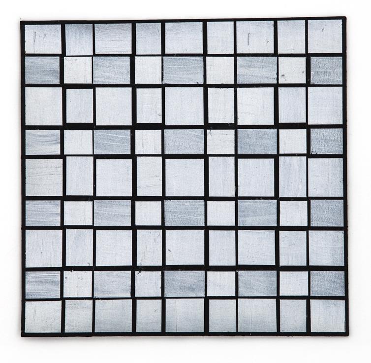 Silver Grid 2, 2015