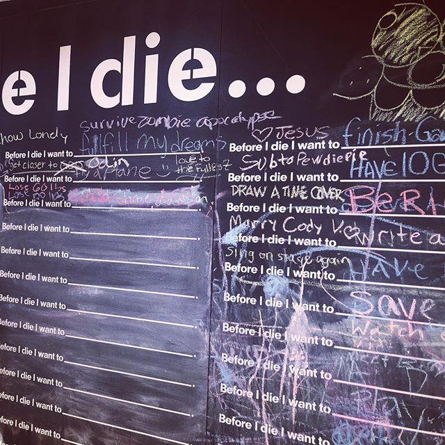 Define yourself at the #beforeidiewall #sanfordnc