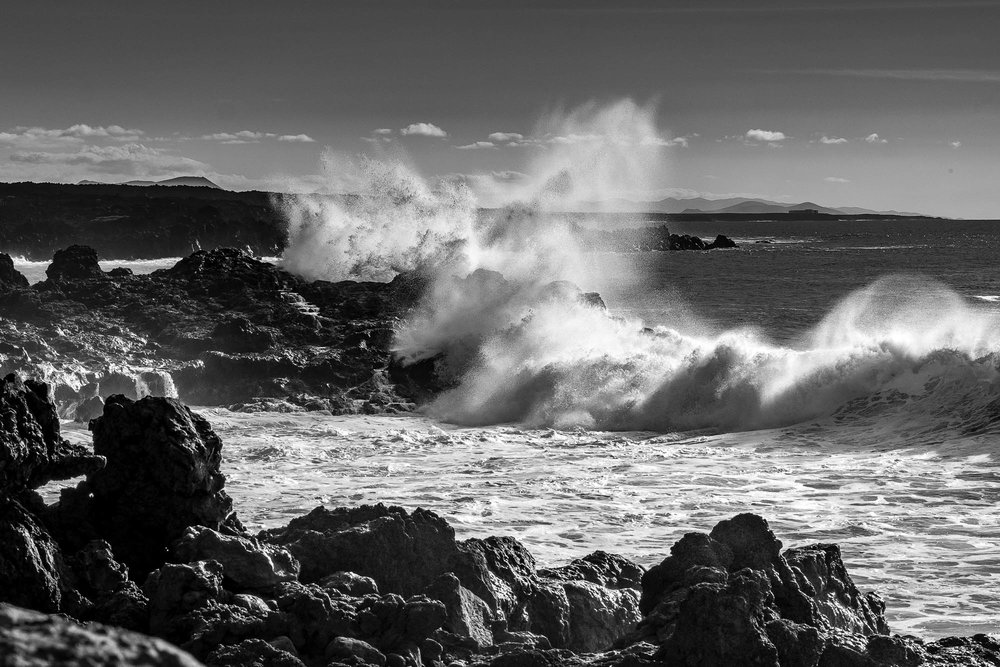 Rough sea - Lanzarote pt2