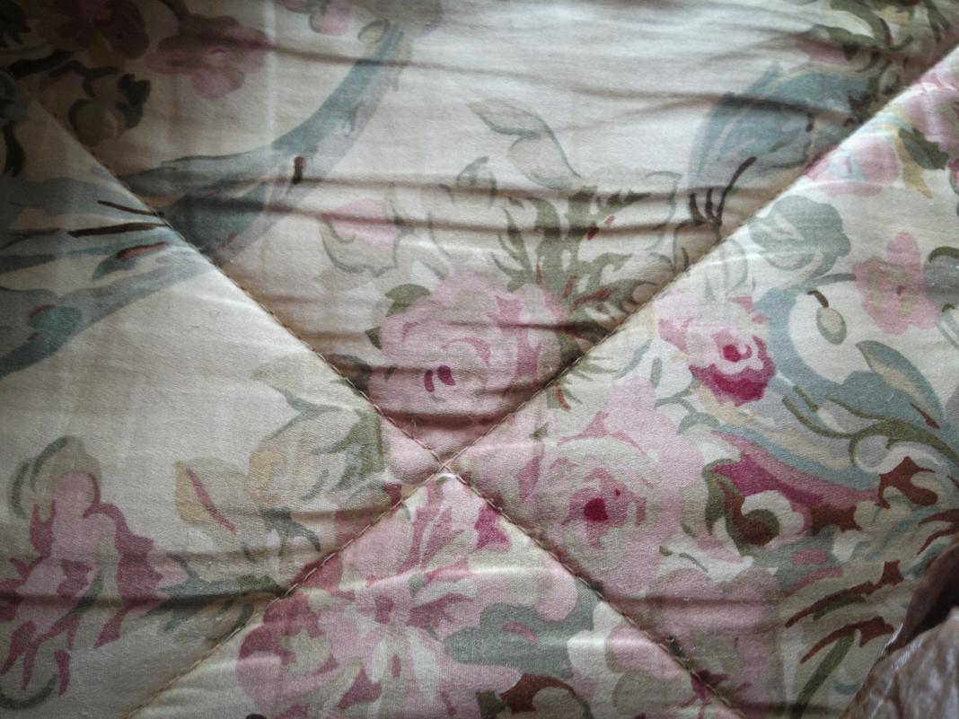 Bedspread in Lava Hot Springs.