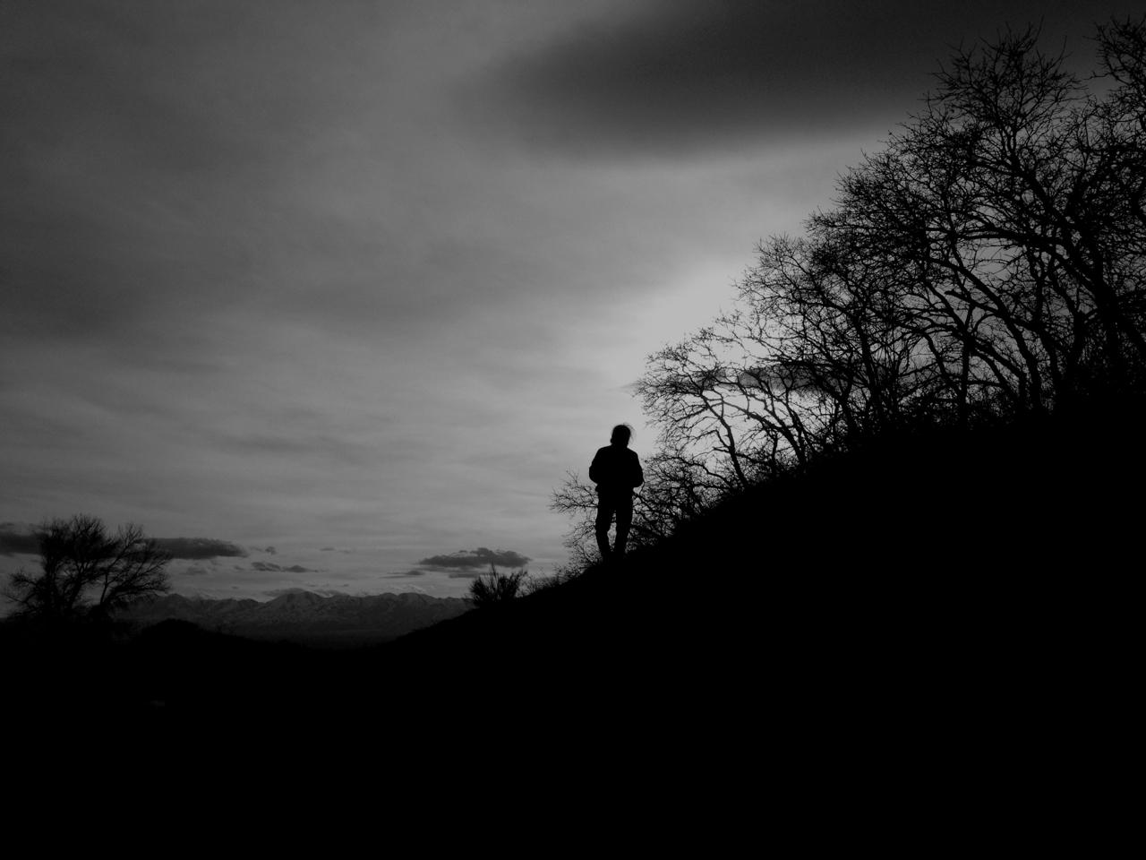 Sunset hill.