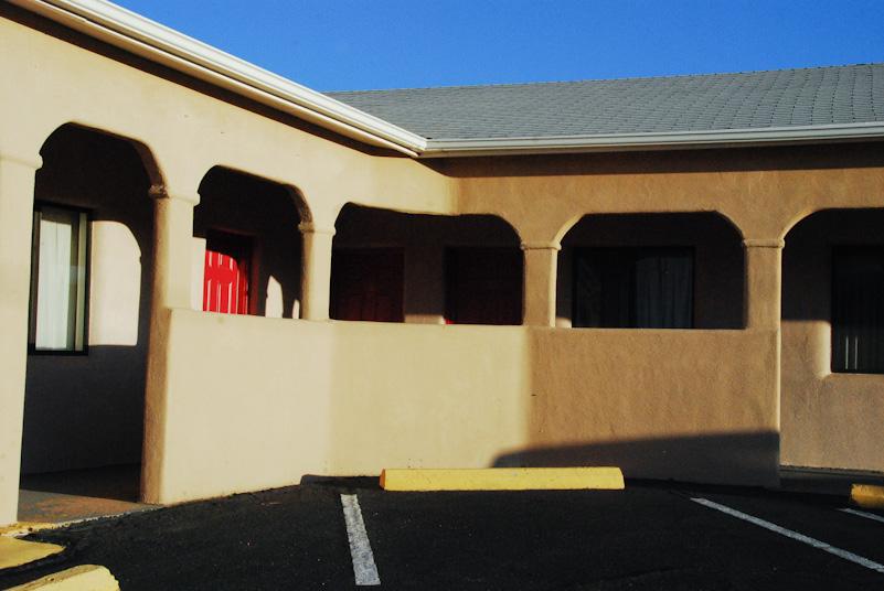 Motel in New Mexico.