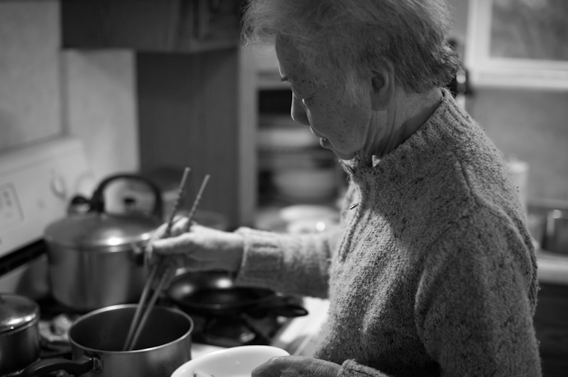 Popo, my grandma, is an excellent cook!