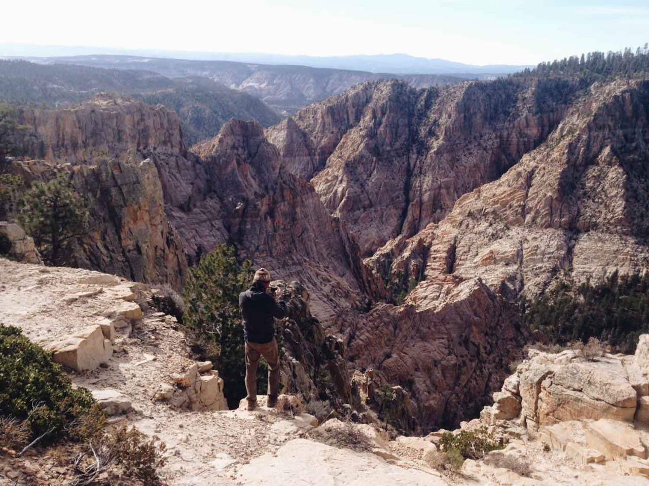 Hell's Backbone. | Boulder, Utah.
