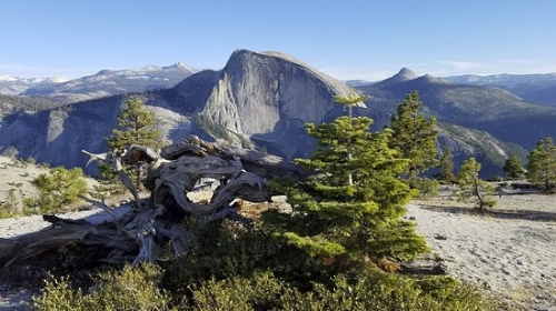 North Dome, Yosemite.