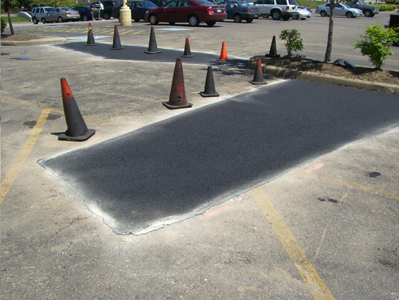 Patch Work Parking Lot
