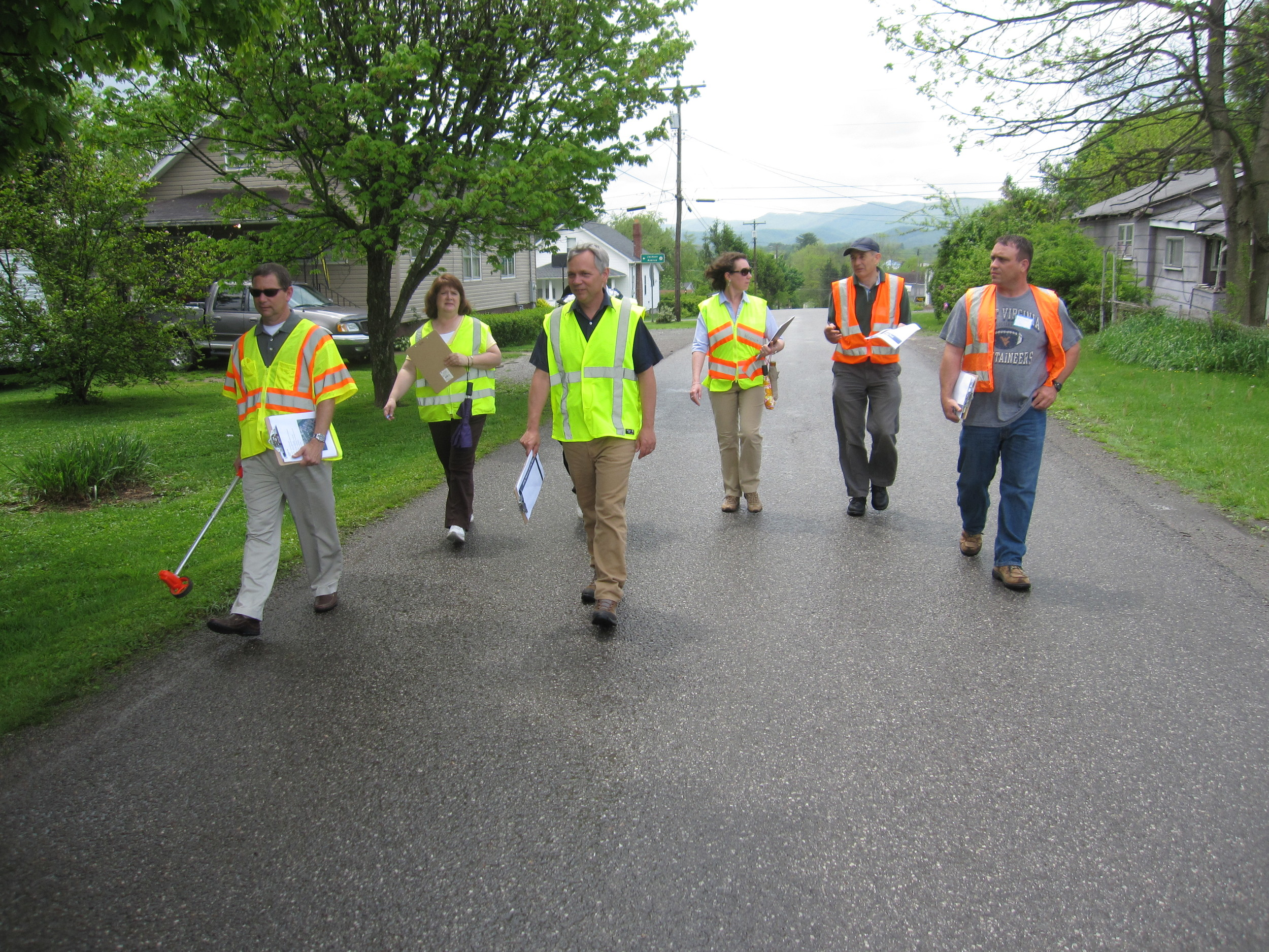Walkability Audit, Highland Park, Randolph County WV