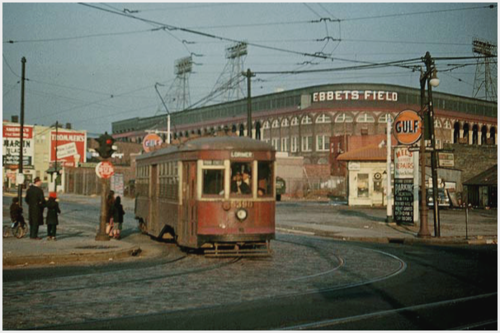 Source: http://chibdm.tumblr.com/post/23096720752/trolley-passing-by-ebbets-field-in-brooklyn-new