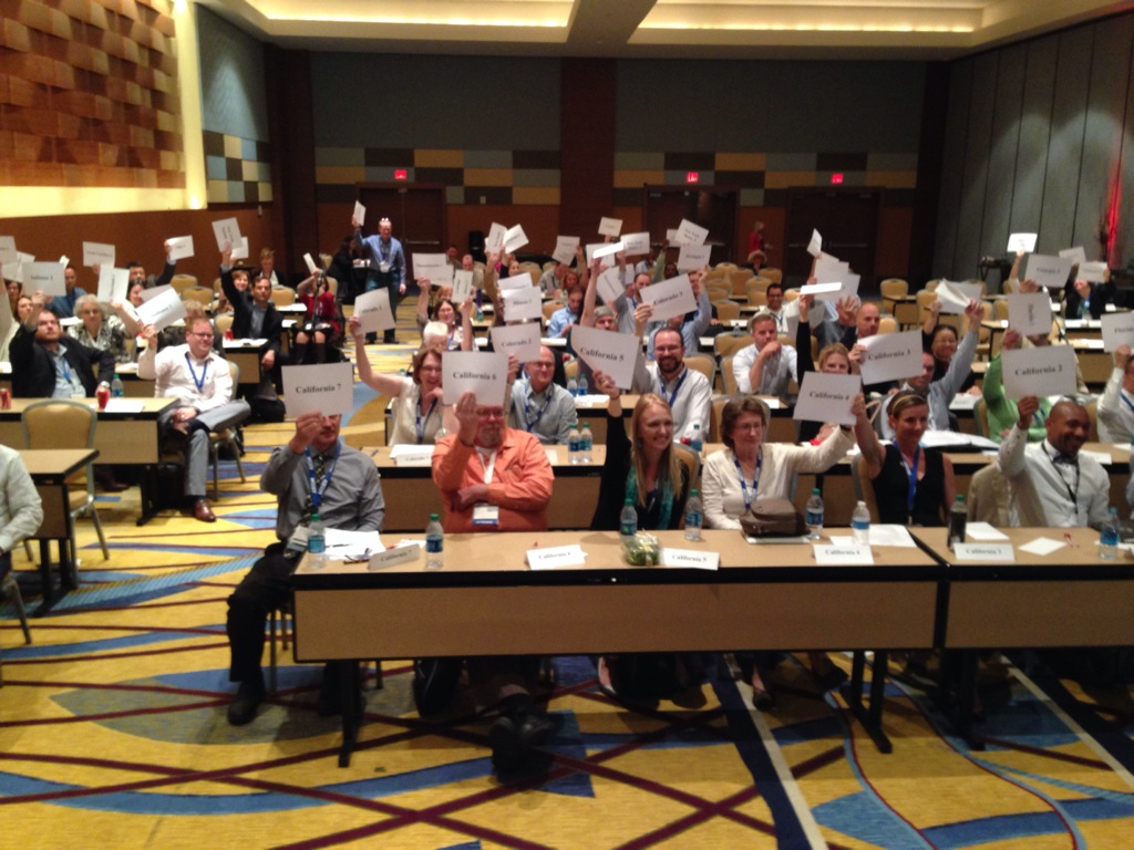 The APA Delegate Assembly votes unanimously to approve a new Policy Guide on Aging in Community.