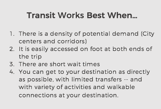 transit works when