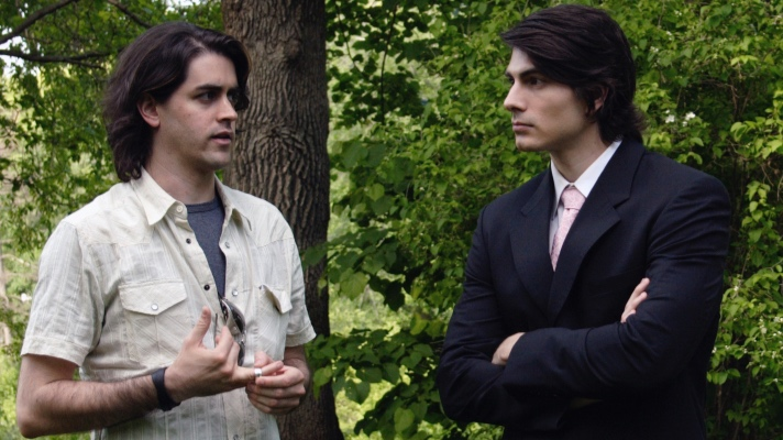 John Stewart Muller and Brandon Routh