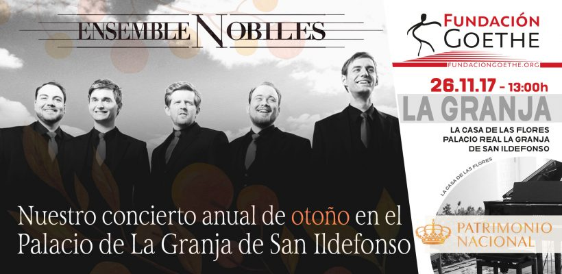 Herbstkonzert im Palast La Granja de San Ildefonso