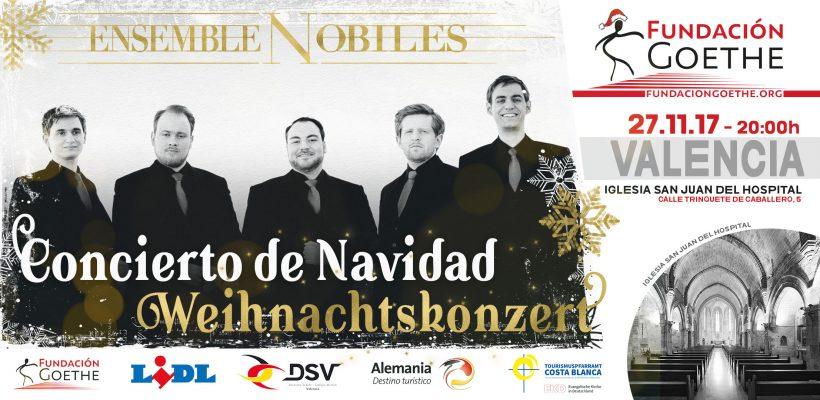 Weihnachtskonzert 2017: Ensemble Nobiles in Valencia