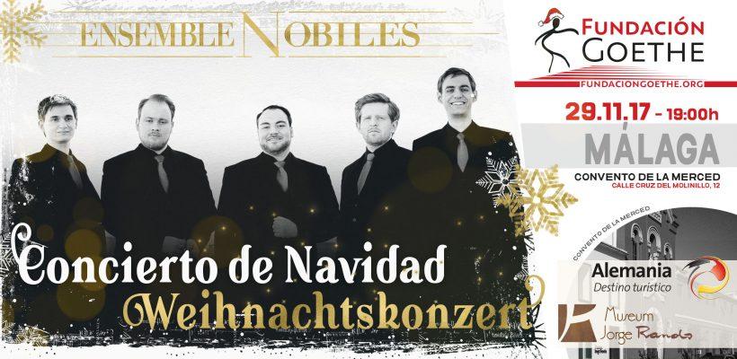 Weihnachtskonzert 2017: Ensemble Nobiles in Málaga