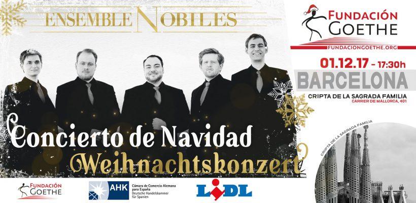 Weihnachtskonzert 2017: Ensemble Nobiles in Barcelona