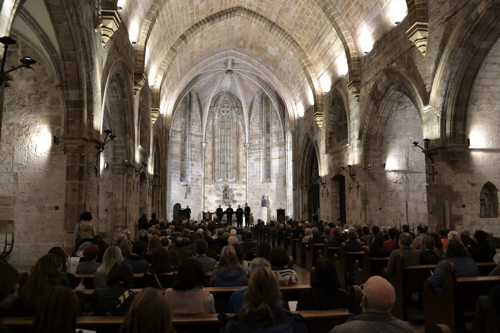 Concert in St Juan del Hospital Valencia