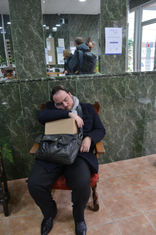 Reisemüdigkeit macht sich breit | Travel tired