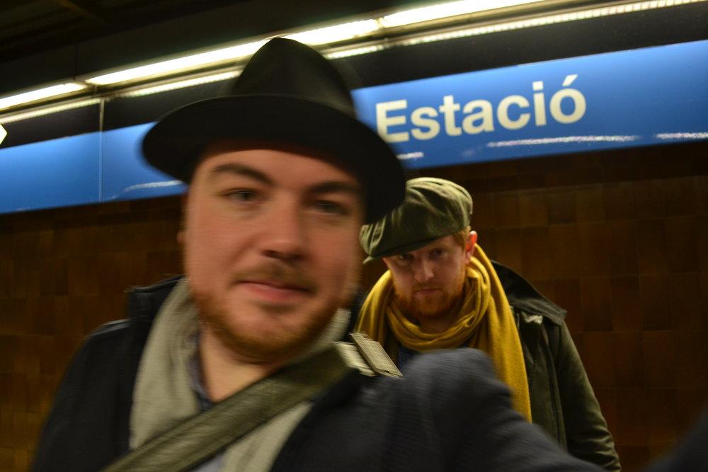 Nächste Station: Barcelona | Next station: Barcelona