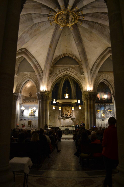 Crypta Sagrada Familia