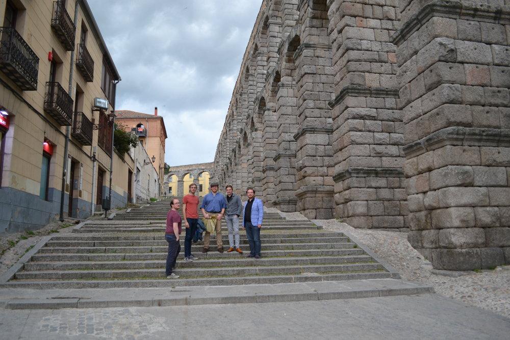 Nobiles auf einer spanischen Treppe
