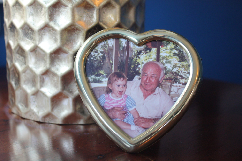Opa, my grandfather, and me