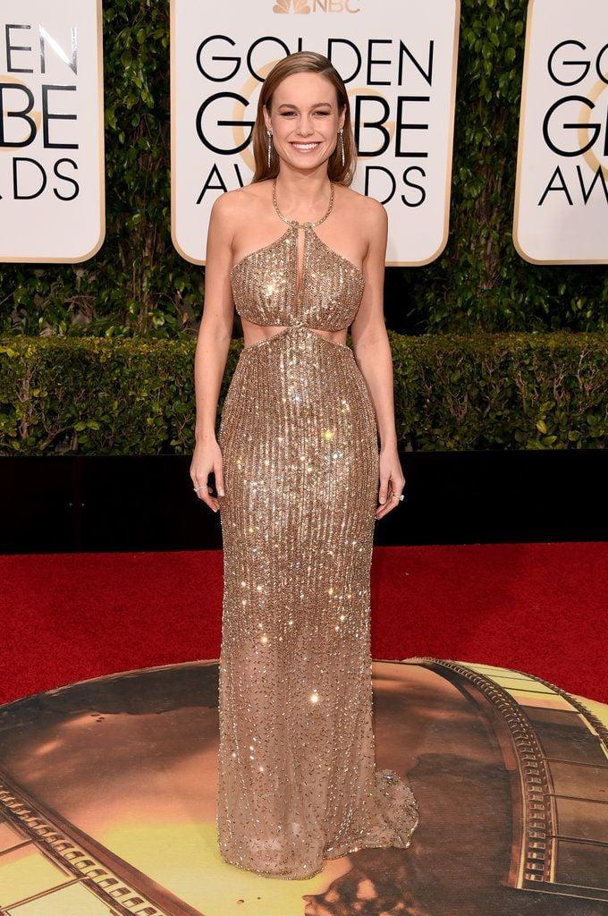 Brie Larson of  Room , is wearing Calvin klein.