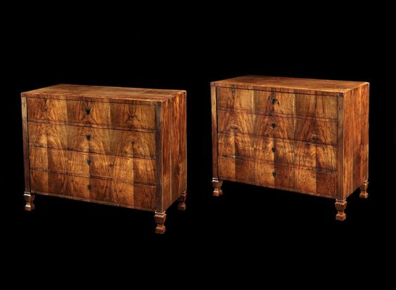pair of biedermeier commodes found at  1stdibs , however no longer available