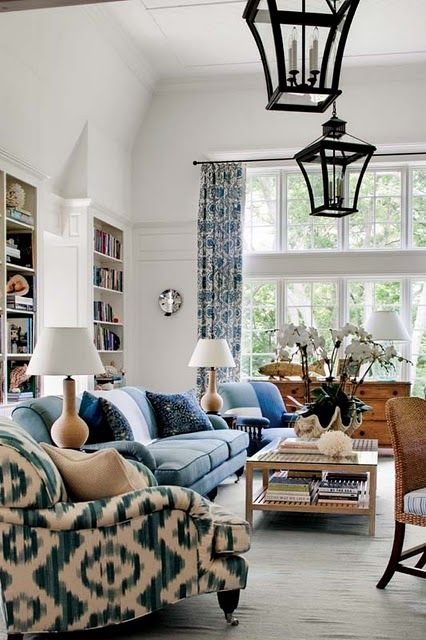 who says a traditional setting can't handle denim?